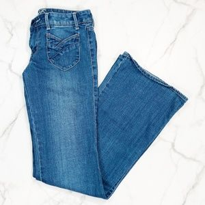 American Eagle Patch Pocket Flare Jeans